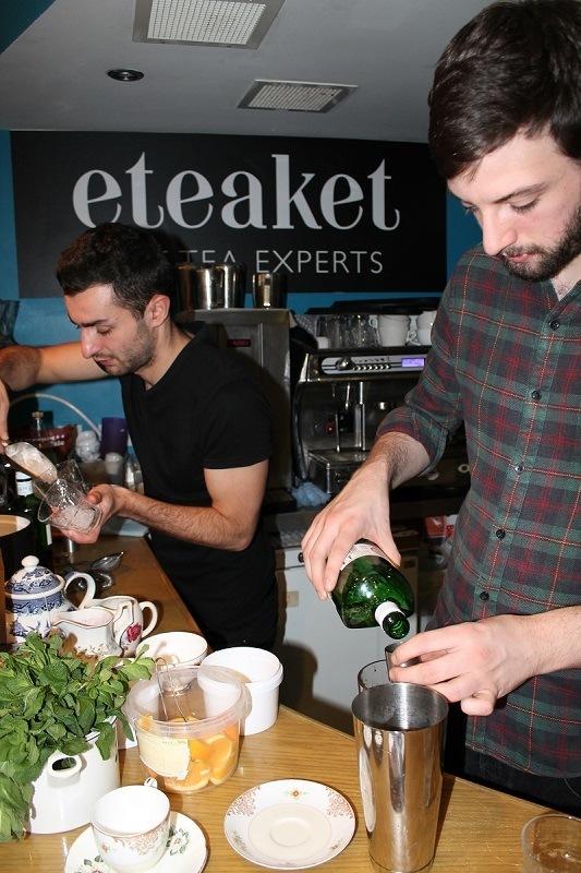 tea cocktail makers