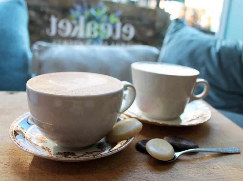 Easter Chocolate Tea Latte