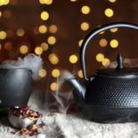 Kick out winter colds with a hot cup of tea!