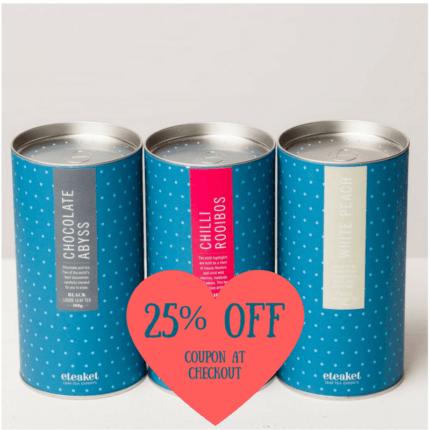25% Off tea collection sale