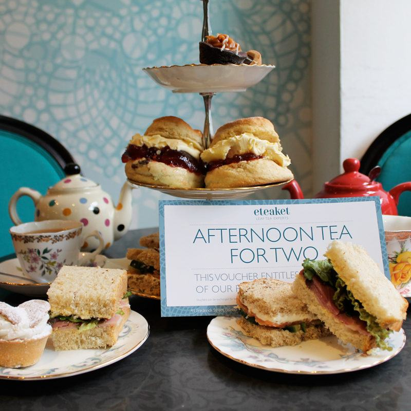 AFTERNOON TEA FOR 2 VOUCHER