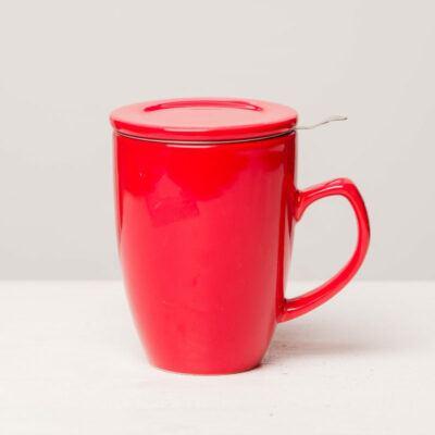 Infuser Mug Red