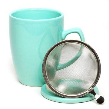 Infuser Mug Mint Green