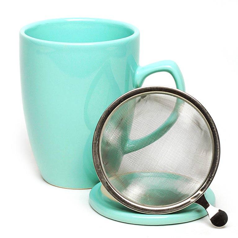 Infuser Mug Mint Green