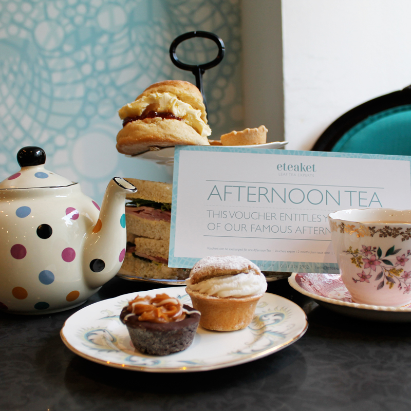 Afternoon Tea for One | Edinburgh Collection