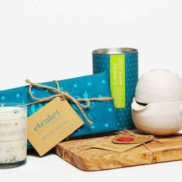 eteaket moment blooming marvellous green tea gift set