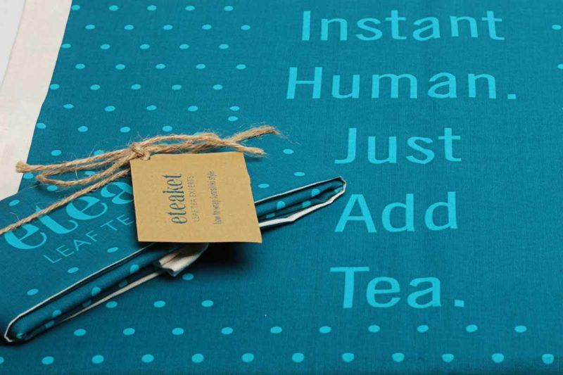 eteaket moment Instant Human Tea Towel