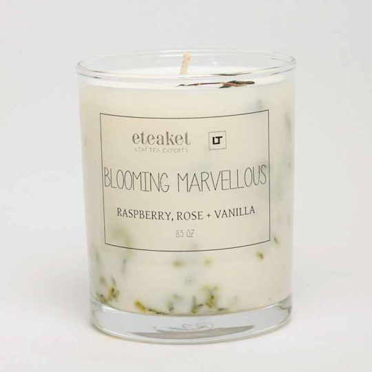 Laura Thomas Linens blooming marvellous candle
