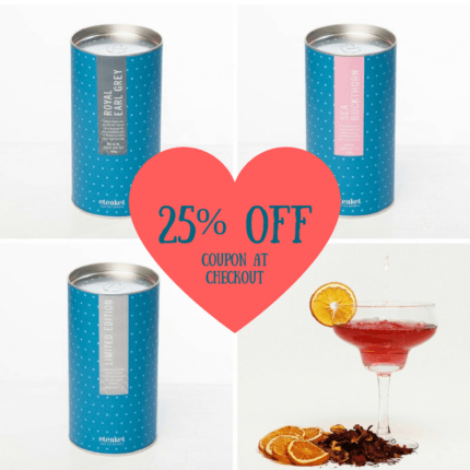25% Off GandTea Cocktail Collection sale