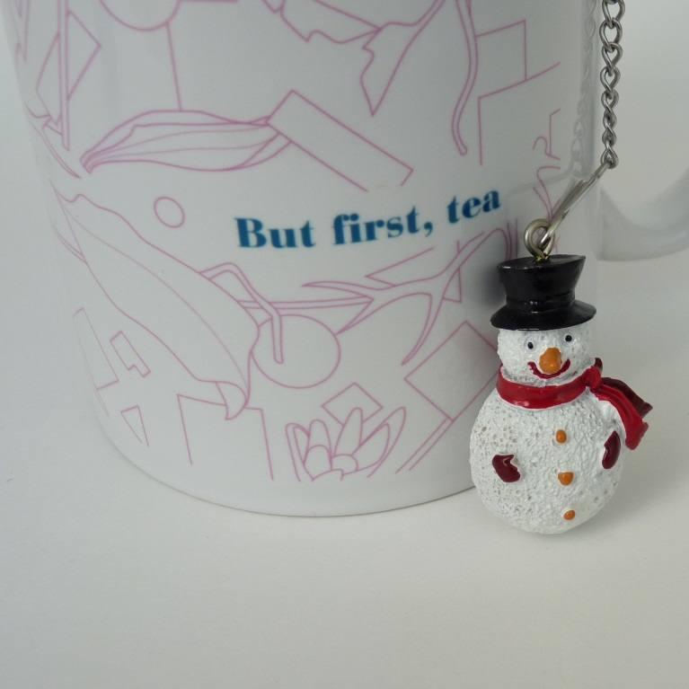 Teaball Snowman