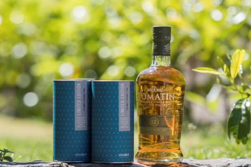 Tomatin Barrel Aged Whisky Black Loose Leaf Tea