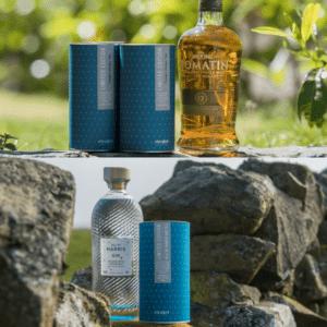 Gin & Whisky Tea Cocktail