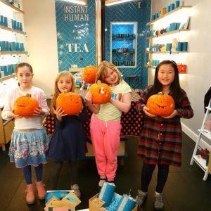 Pumpkin Carving Event eteaket Concept Store