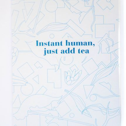 eteaket notebook Instant Human, Just Add Tea limited edition exclusive stationery