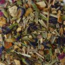 Purple Rain Blue Tea Close-Up