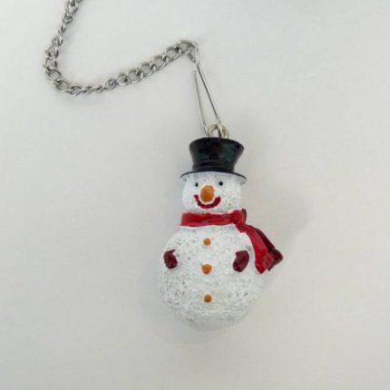 eteaket Christmas Tea Ball Snowman loose leaf