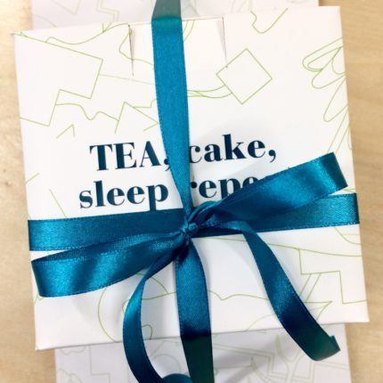 Teaeteaket Cake Sleep Repeat set box