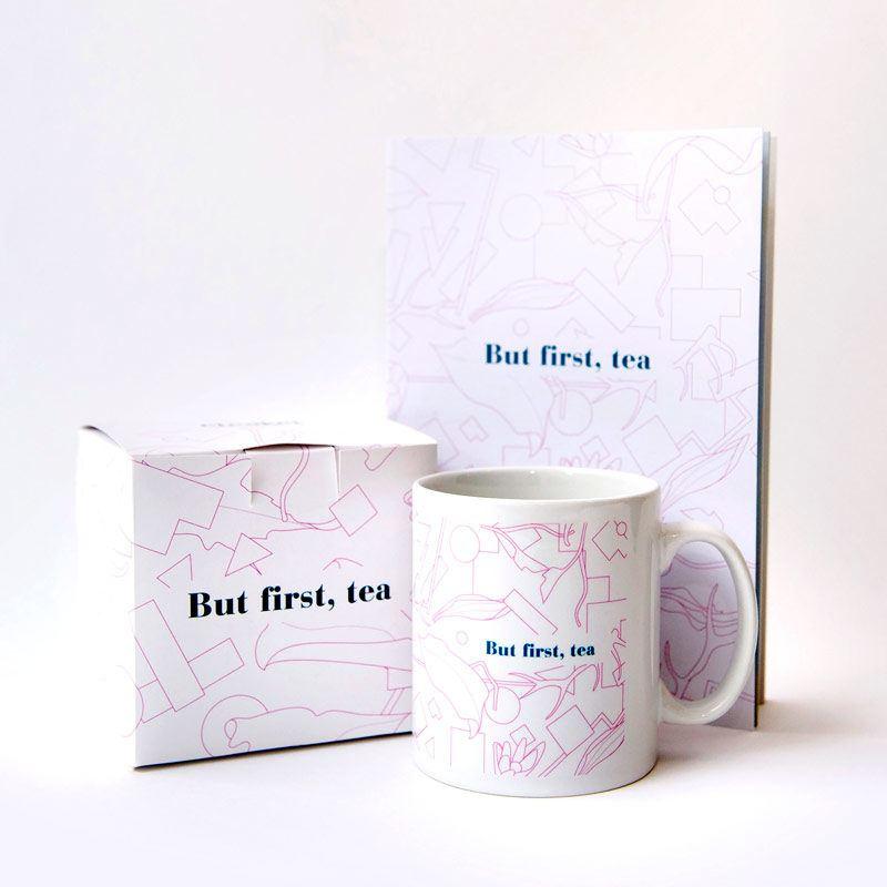 But First, Tea Mug & Notebook