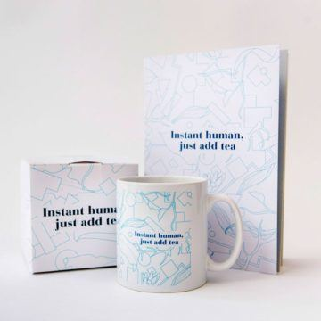 Instant Human Mug & Notebook