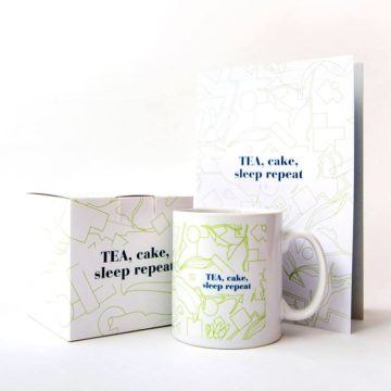 Tea Cake Sleep Repeat Set