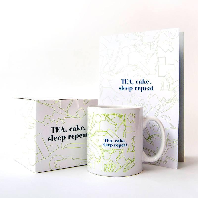 Tea Cake Sleep Repeat Set