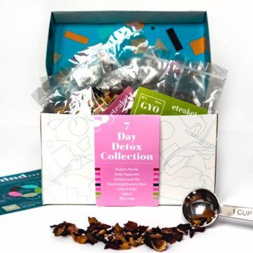 7 day detox collection with 7 teas