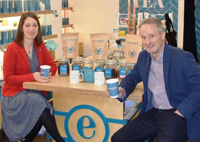 Brakes Scotland launch eteaket tea