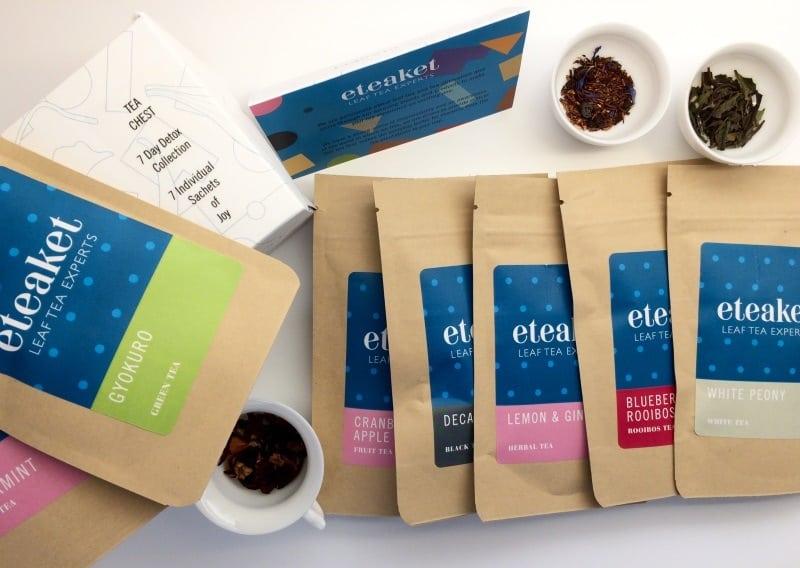 eteaket 7 Day Detox Collection Tea Chest