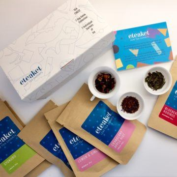 eteaket 7 Day Detox Collection Tea Chest Loose Leaf