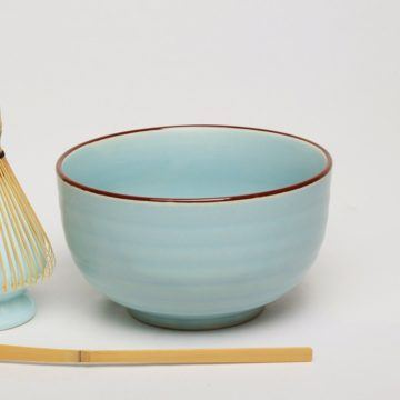 eteaket matcha bowl duck-egg blue traditional style