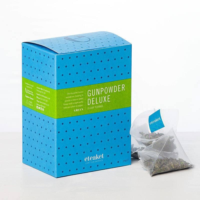 Gunpowder Deluxe Leaf Tea Bags