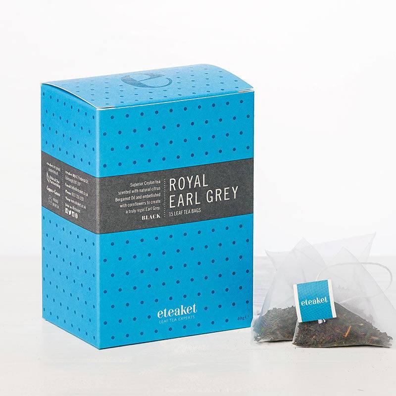 Royal Earl Grey Leaf Tea Bags