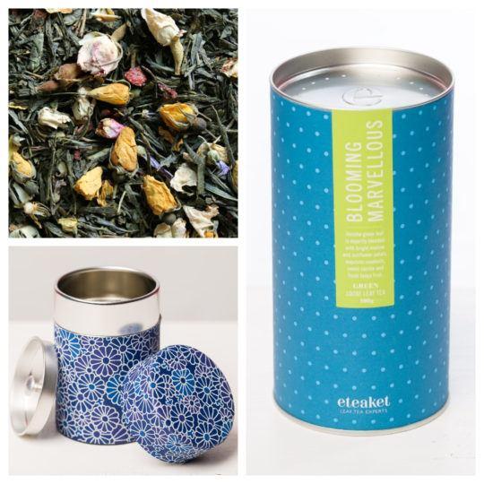 eteaket Blooming Marvellous Tea Tin Set