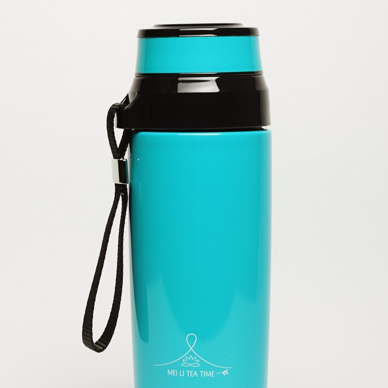 Loose leaf tea travel flask