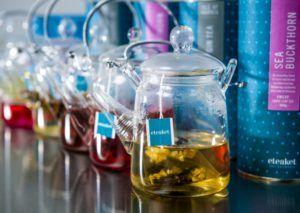 eteaket Flowering Glass Teapot Richards Photography