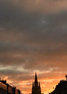 Edinburgh Melville Street Picnic Blog