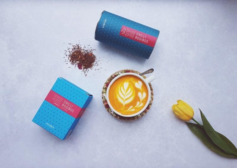eteaket Chilli Rooibos Turmeric Tea Latte