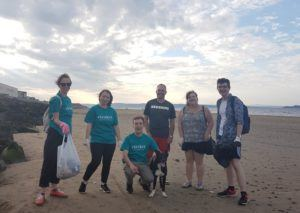 eteaket big beach clean up