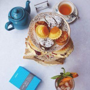 eteaket Tea Room Menu Afternoon Tea Edinburgh
