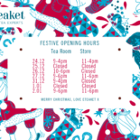 Merry Christmas from eteaket & Our Opening Hours