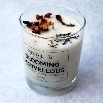 Blooming Marvellous Candle
