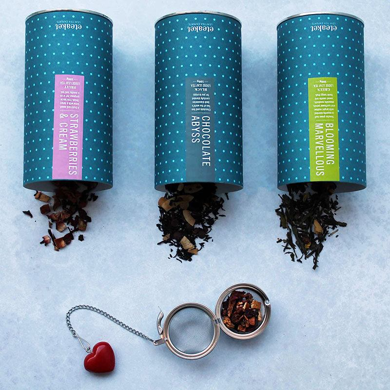 Indulge and Infuse Tea Gift Set