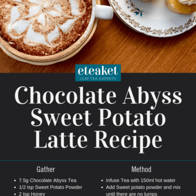 Chocolate Abyss Sweet Potato Latte Recipe