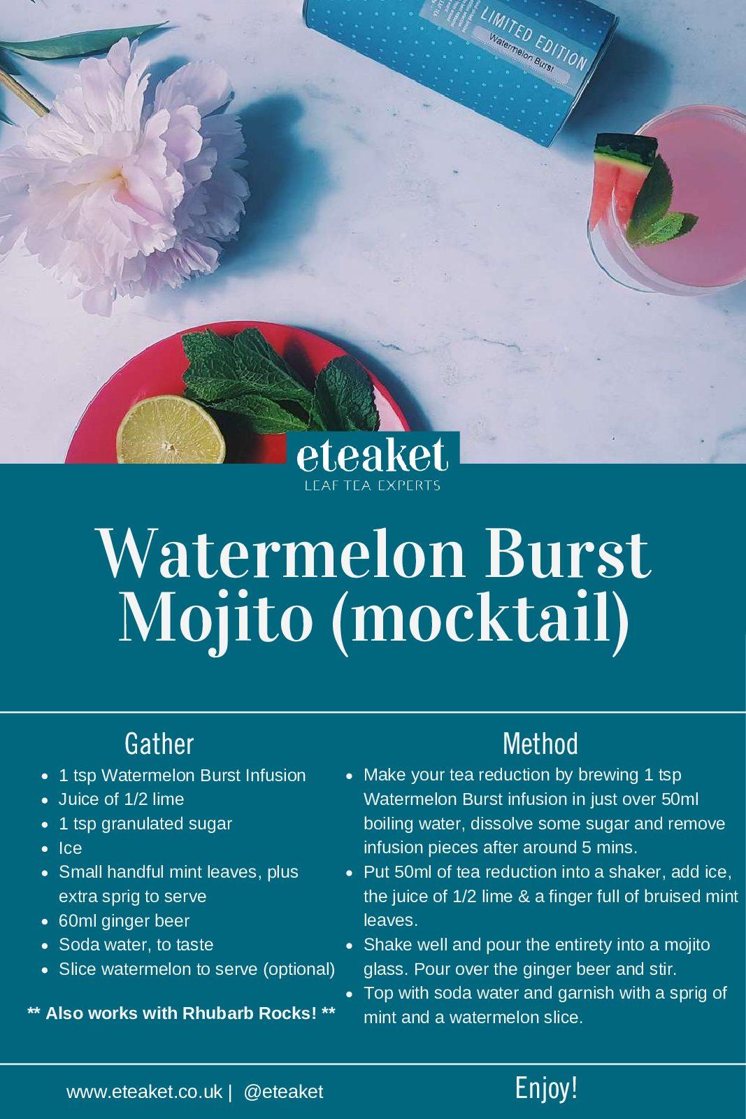 Watermelon Mocktail Recipe