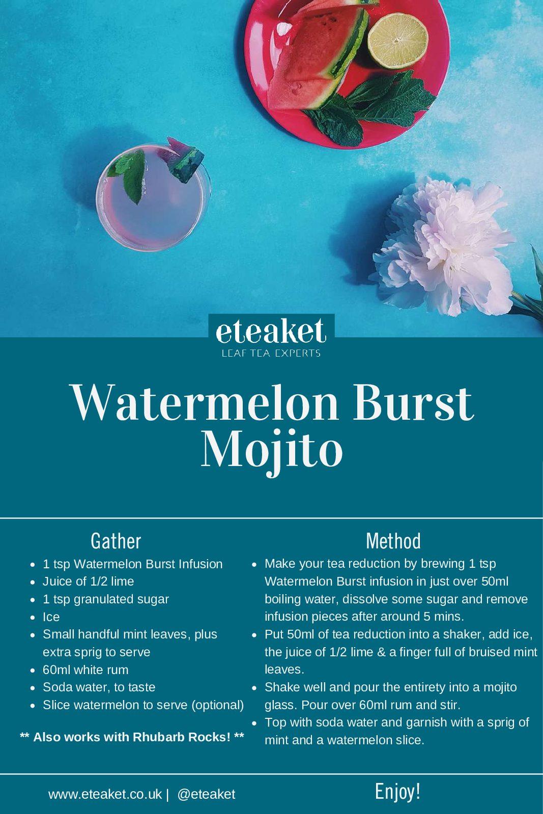 Watermelon Burst Mojito Recipe