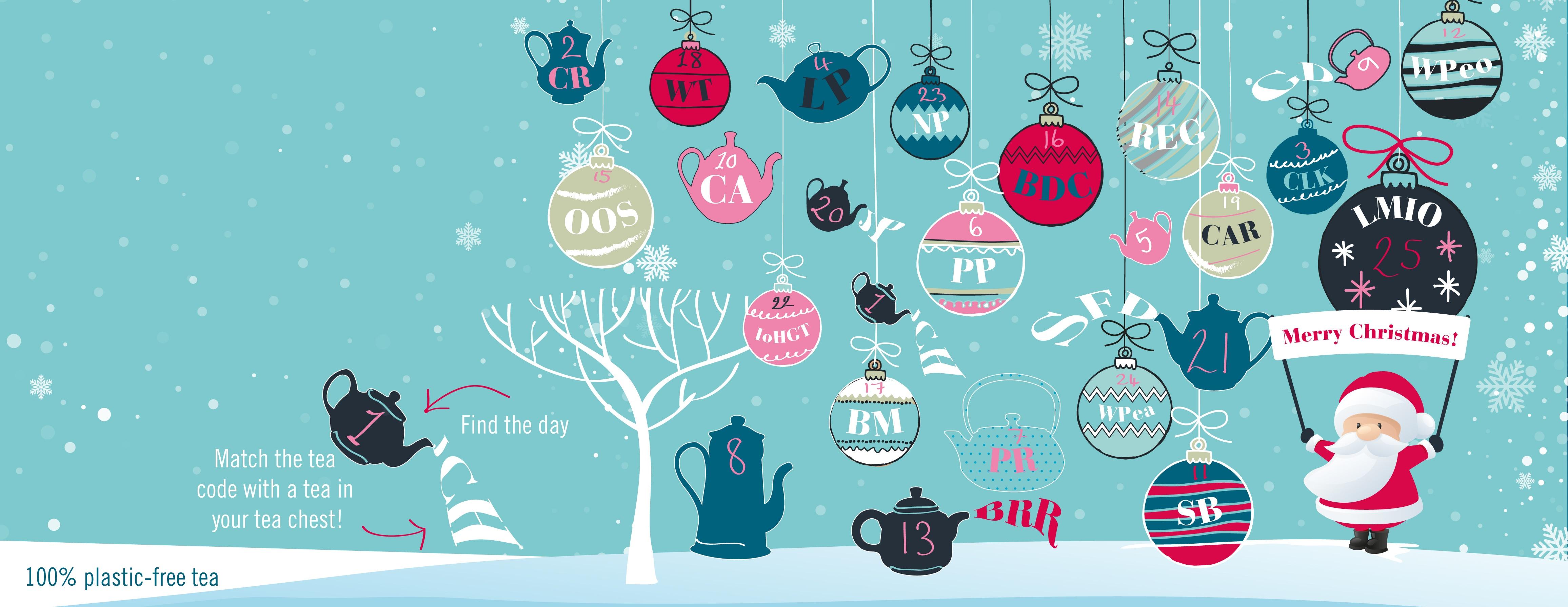 CHRISTMAS ADVENT TEA CHEST logo