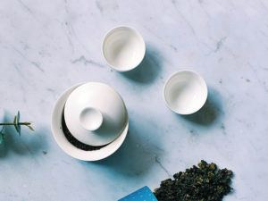 Taiwan and tasting cups