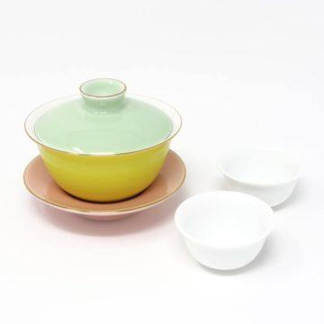 Colour Gaiwan Tea Tasting Set