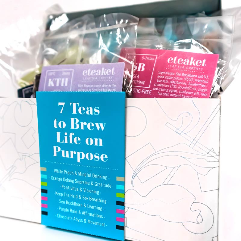 7 Teas To Brew Life on Purpose