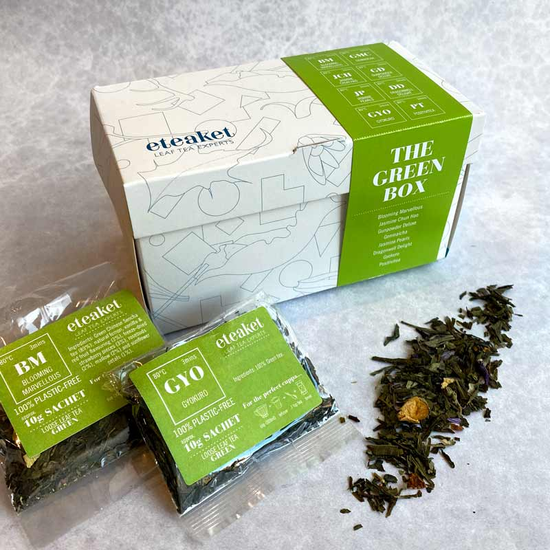 The Green Box Tea Chest Collection